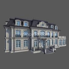 french house model french house