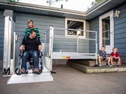 home access wheelchair and scooter lift ez access