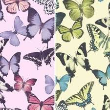 grandeco botanical butterfly pattern wallpaper modern textured