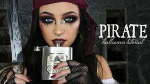 pirate halloween makeup tutorial glam pirate makeup stephanie