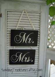 mr u0026 mrs wedding chair signs black white photo prop lovers