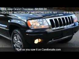 jeep 2004 for sale 2004 jeep grand overland 4wd for sale in ossining