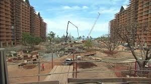 disney aulani resort hotel construction in ko olina hawaii youtube