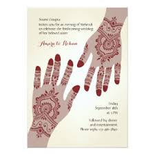 henna invitation henna invitations announcements zazzle canada