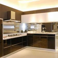 High Gloss Paint For Kitchen Cabinets China Classic Black White High Gloss Paint Kitchen Cabinets