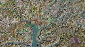 Ohio Elevation Map by Geography Of Washington D C Wikiwand