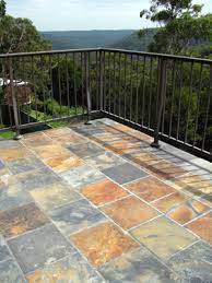 multicolour slate floor tiles u2014 bellstone