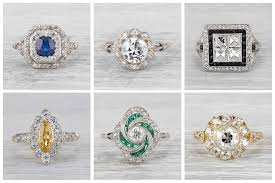 what is an engagement ring what is a cluster engagement ring erstwhile jewelry