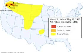 Montana Weather Map by Volcanology What Caused A Measurable Patch Of Mt St Helens