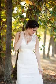 scalloped v neck keyhole back ivory lace wedding dress topbridal