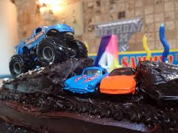 childrens monster truck videos cakes id mommy diy monster truck birthday party