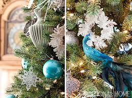Traditional Home Christmas Decorating Ideas by Holiday Home In Blue And White Traditional Home