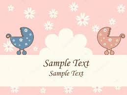 baby shower card u2014 stock vector 578foot 4251738