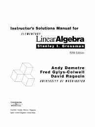 solu algebra lineal stanley grossman eigenvalues and