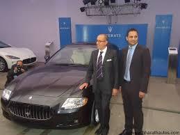 maserati bangalore maserati supercars launched in india