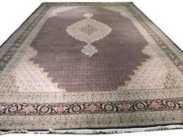 12x18 Area Rug Black 12x18 Tabriz Mahi Handmade Rug Renown Design Wool U0026 Silk