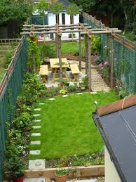awesome long thin garden design 50 for your home wallpaper with