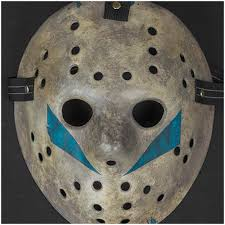Jason Voorhees Mask Jason Vorhees Hockey Mask Screen Accurate Replica Friday 13th