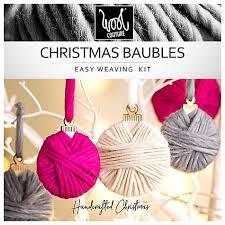 buy wool couture diy bauble kit multi lewis