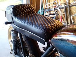 Auto Upholstery Utah Wasatch Upholstery Does Awesome Utah Cafe Racer