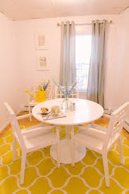 Yellow Dining Room Ideas Best 25 Yellow Kitchen Tables Ideas On Pinterest Redoing
