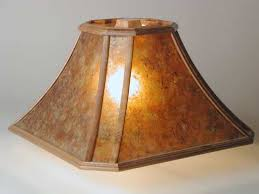 Arts And Crafts Ceiling Lights by Buy A Hand Made Aurora Arts And Crafts Table Lamp With Wood Framed
