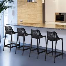 height of counter height bar stools compamia air 25 6 in counter height bar stool set of 2 hayneedle