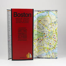 Copley Square Boston Map by Boston City Guide By Red Maps