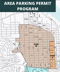 Portland Parking Map by Parking Permit Price Hike Pinches Poor