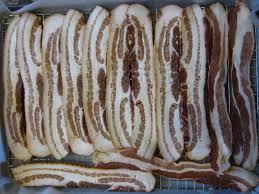 wordless wednesday baking bacon via cooking light magazine omg