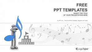 music ppt templates free download free saxophone ppt template