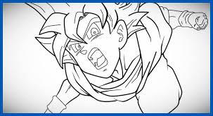 imagenes de goku para dibujar faciles con color imágenes de goku para dibujar a color archivos dibujos de dragon