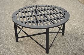 scrap iron patio table 7 steps with pictures