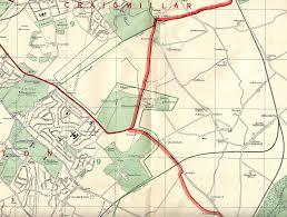 Edinburgh Map And Leith Map 1955 South East Edinburgh