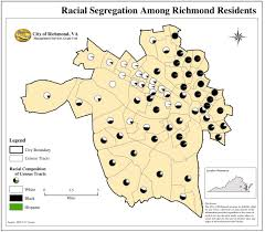 Map Of Richmond Virginia by Maps Of Modern American Segregation E Mahala