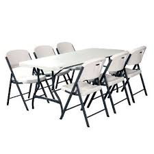 lifetime folding tables 6 lifetime folding tables and chairs coho
