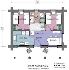 513 sq ft the bunk house rcm cad design drafting ltd is an