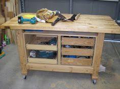 Rolling Work Bench Plans Heavy Duty Workbench Diy Done Right 01 Pinterest Heavy