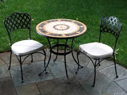 Bistro Patio Table And Chairs Set Small Mosaic Patio Table And Chair Sets Tags Small Mosaic Patio