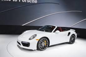 60s porsche 2016 detroit auto show the 2017 porsche 911 turbo in pictures