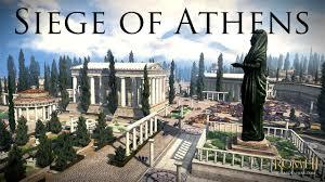 total siege total war rome 2 siege of athens athens v sparta