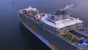 Largest Cruise Ship The World U0027s Largest Cruise Ship Harmony Of The Seas Arrives In