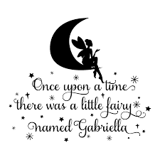 fairy named u2026 wall quotes decal wallquotes com