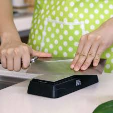 taidea t0831d outdoor knife sharpener dual side diamond kitchen
