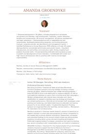 Human Resource Resume Sample by Hr Manager Resume Samples Visualcv Resume Samples Database