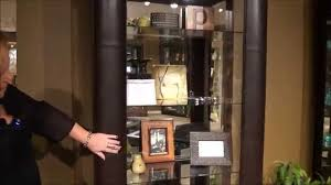 Curio Cabinets Richmond Va Alamance Leather Curio Cabinet By Philip Reinisch Home Gallery