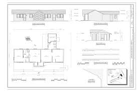 file first floor plan east elevation north elevation building file first floor plan east elevation north elevation building section paneling details crown molding and location map cedar pass lodge cabin 1 2