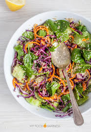 colourful quinoa salad with sesame soy dressing my food u0026 happiness