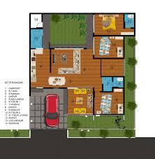 desain terbaru denah rumah minimalis sederhana untuk kamar tidur