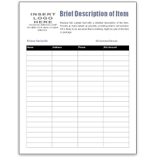 Sheet Templates 5 Auction Bid Sheets Templates Formats Exles In Word Excel